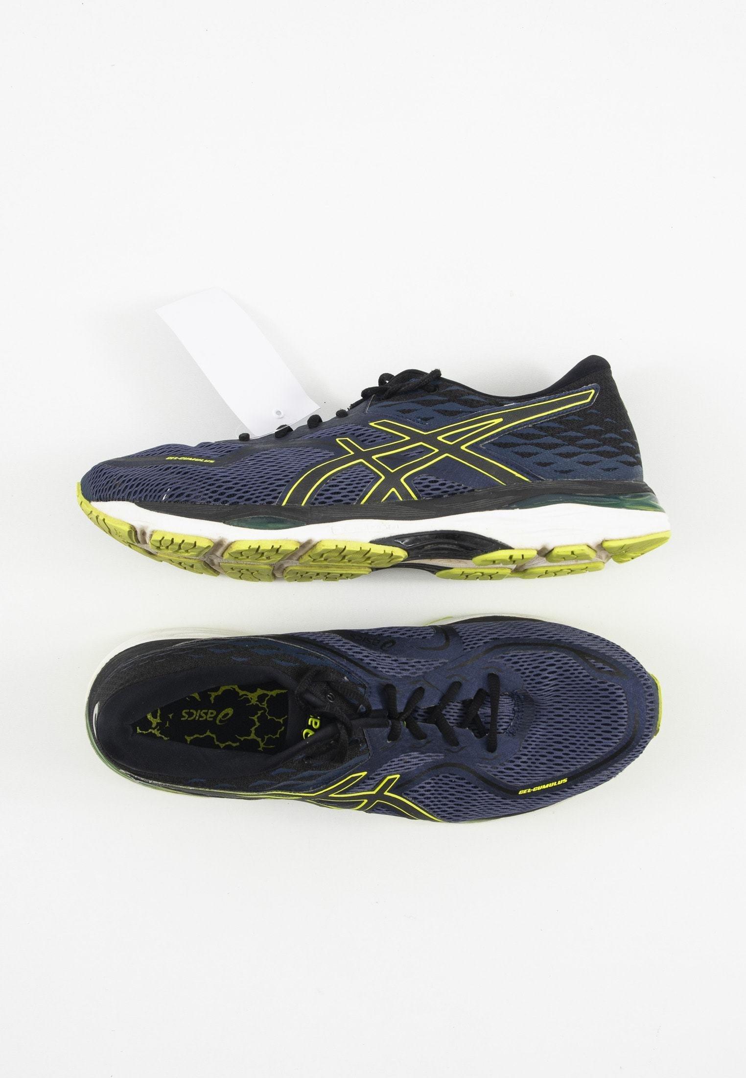 Asics Stabilty Running Shoes Blue Zalando De