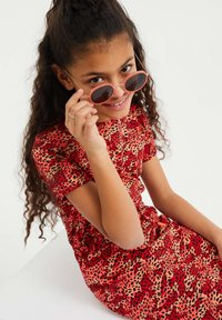 WE Fashion - Korte jurk - red - 2