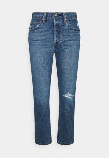 501 CROP - Jeans a sigaretta - salsa middle