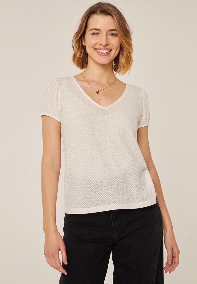 T-shirt print - crudo