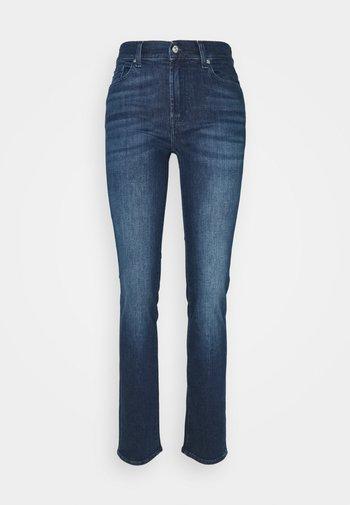 THE EXLCUSIVE - Straight leg jeans - blau
