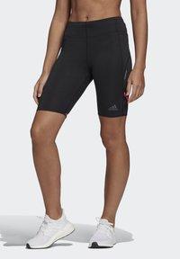 adidas Performance - How We Do 1/2 Leggings - Shorts - Black - 0