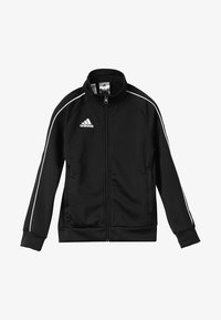 adidas Performance - CORE 18 FOOTBALL TRACKSUIT JACKET - Chaqueta de entrenamiento - black/white - 2