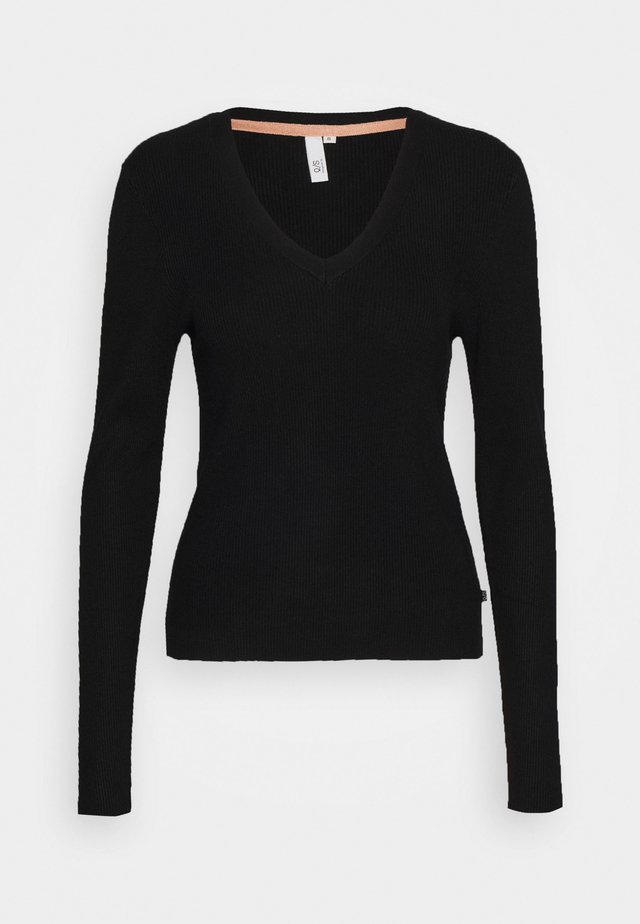 LANGARM - Jumper - black