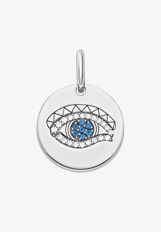 AUGE DES HORUS COIN - Pendant - silver-coloured/dark blue