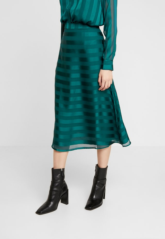 TIRON SKIRT - Gonna a campana - sea moss