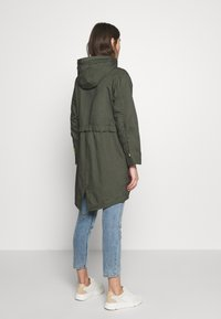 edc by Esprit - SOLID - Parka - khaki green - 2