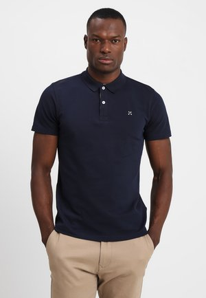 SLHLUKE SLIM FIT - Polo shirt - navy blazer