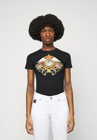 Versace Jeans Couture - TEE - Print T-shirt - black - 0