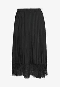 Vila - VIMOON MIDI SKIRT FULL - A-line skirt - black - 4