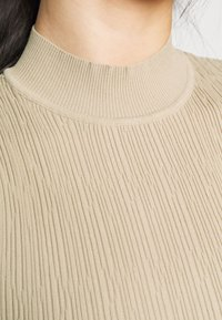 Missguided Petite - TEXTURED CUT OUT BACK BODYSUIT - Top - beige - 5