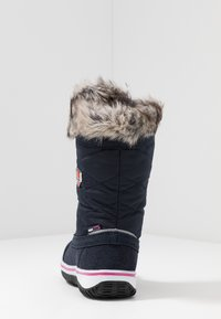 TrollKids - HOLMENKOLLEN UNISEX - Winter boots - navy/magenta - 4