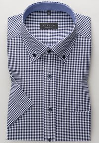 Eterna - COMFORT FIT - Shirt - marine/weiß - 4