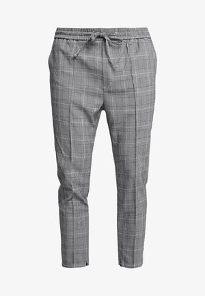 FLICK CHECK - Pantaloni - black
