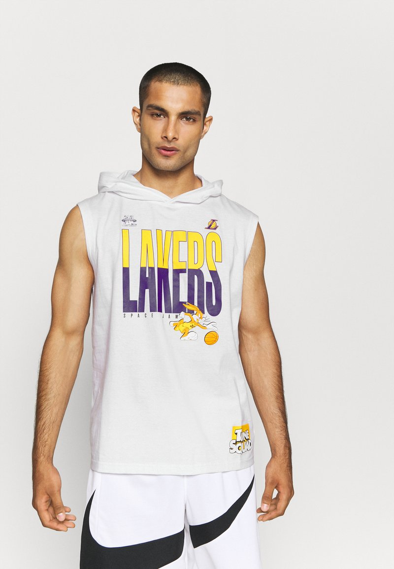Outerstuff - NBA LOS ANGELES LAKERS SPACE JAM 2 TEAM DOWN THE COURT TANK - Club wear - white