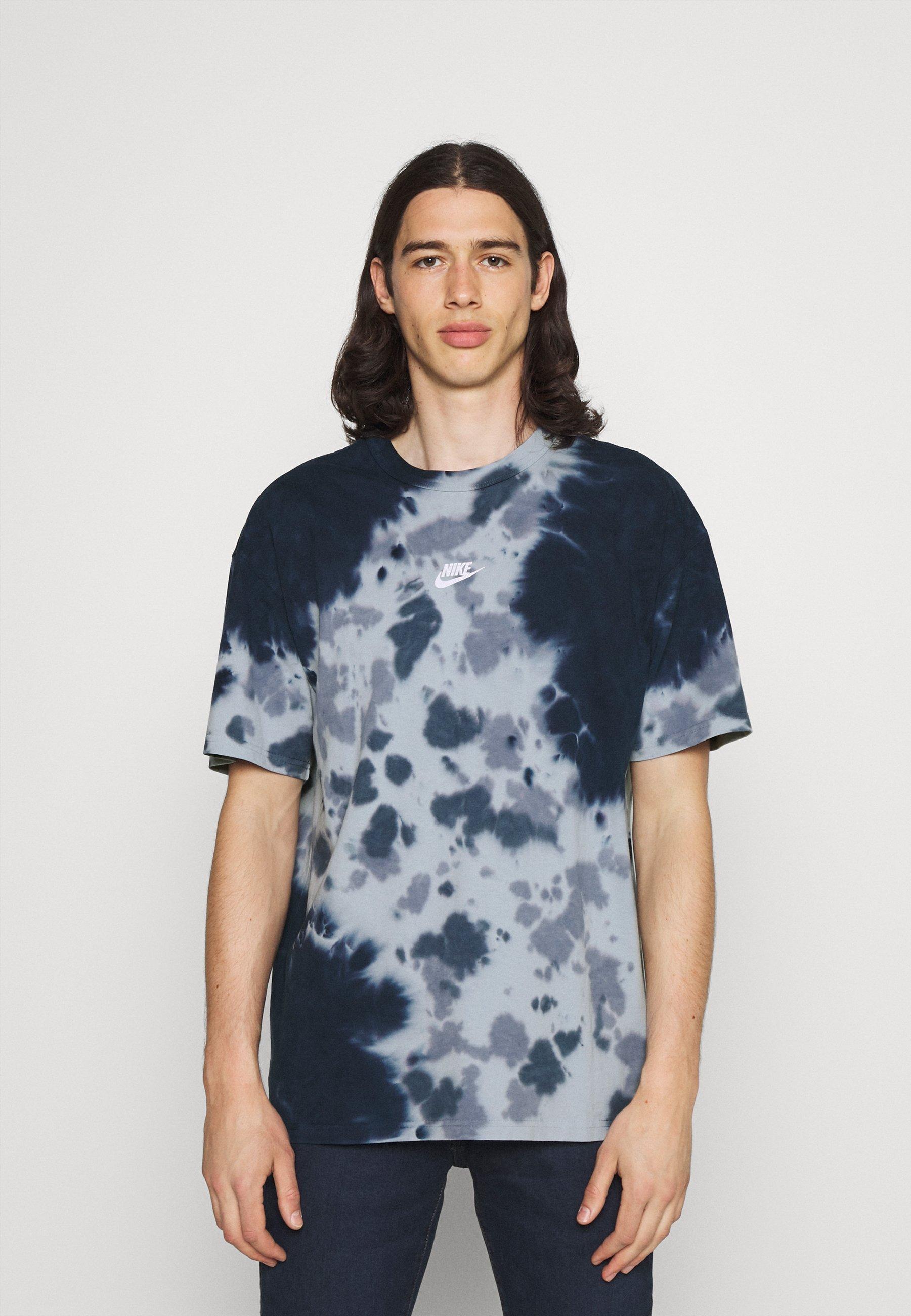 Men TEE  - Print T-shirt - thunder blue/armory blue