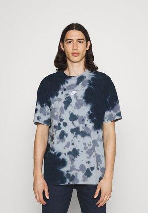 TEE  - T-shirts print - thunder blue/armory blue