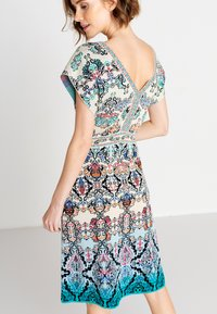 Ivko - JACQUARD DRESS, - Day dress - blue/beige - 2
