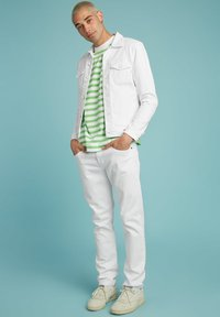 Guess - SLIM - Denim jacket - weiß - 1