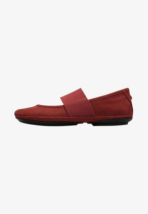 RIGHT NINA - Foldable ballet pumps - red