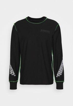 T-JUSEAM-LS T-SHIRT UNISEX - Camiseta estampada - black