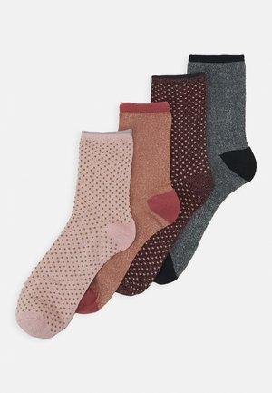 DINA  4 PACK - Socks - desert sand