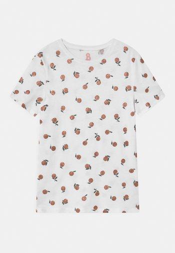 PENELOPE SHORT SLEEVE TEE - Print T-shirt - white