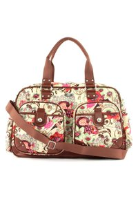 Oilily - TROPICAL BIRDS - Weekend bag - off white - 2