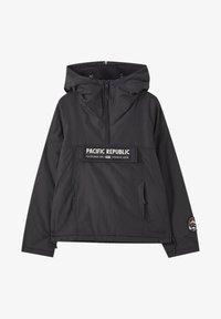 PULL&BEAR - PACIFIC REPUBLIC - Winter jacket - black - 5