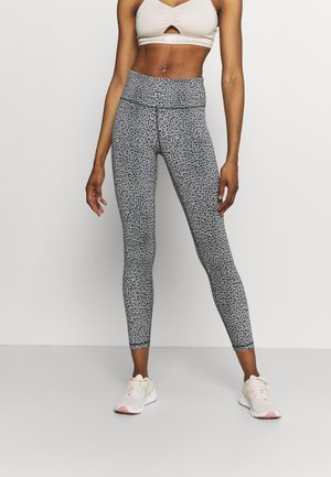 FLATTER ME 7/8 WORKOUT LEGGINGS - Leggings - slate grey