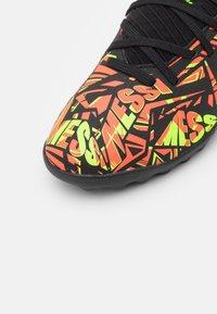 adidas Performance - NEMEZIZ MESSI .3 TF UNISEX - Astro turf trainers - solar red/solar yellow/core black - 5