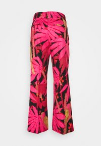 J.CREW - PRINTED ANDERSON PANT GRASSCLOTH - Pantalon classique - pink/red - 1