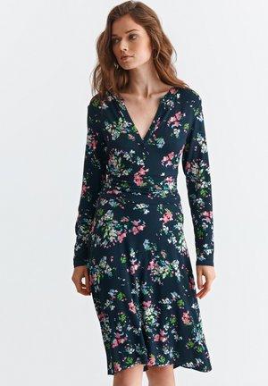 SOKOLO - Žerzejové šaty - navy blue