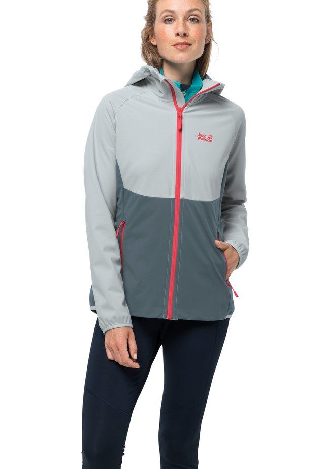 GO HIKE - Soft shell jacket - storm grey