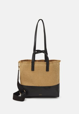 SHOPPER BAG AKUA SET - Käsilaukku - black