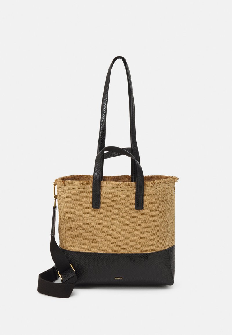 PARFOIS - SHOPPER BAG AKUA SET - Handbag - black