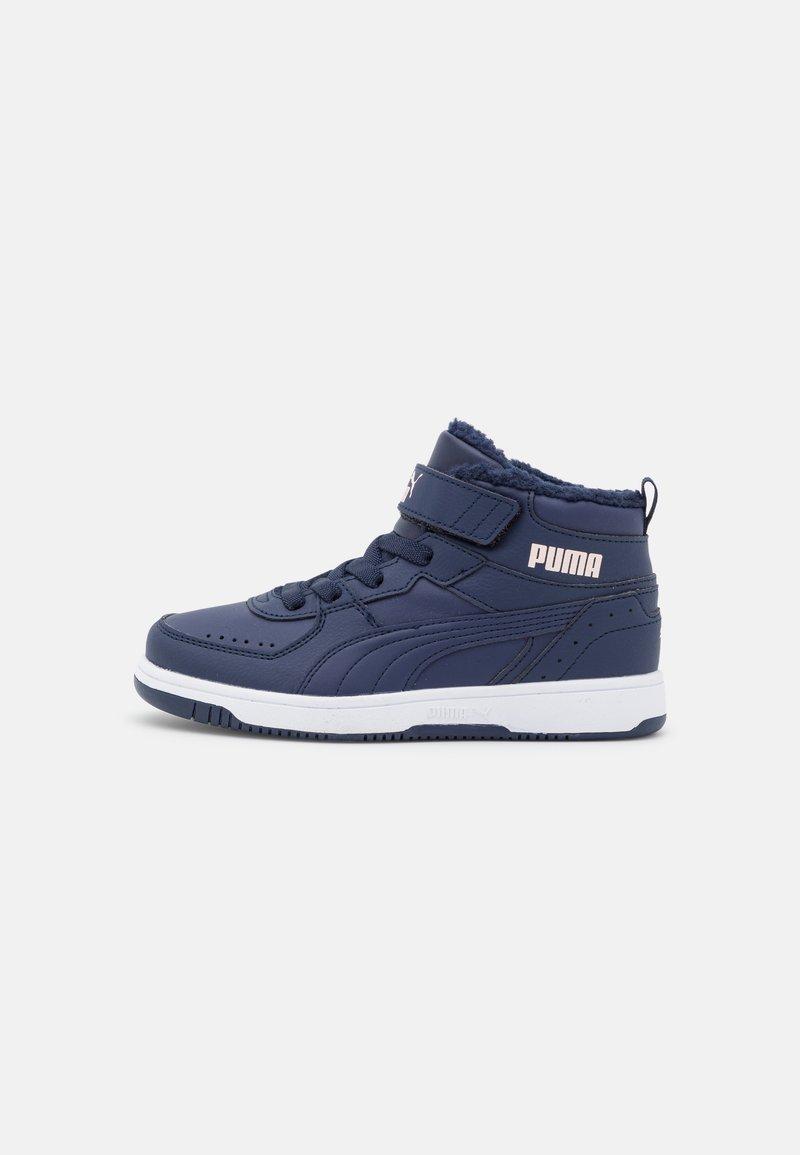 Puma - REBOUND JOY  - Sneakersy niskie - peacoat/lotus/white