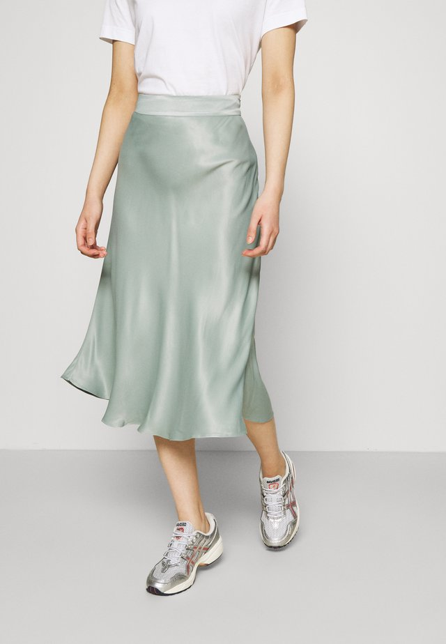 EDDY NEW SKIRT - Jupe trapèze - green milieu