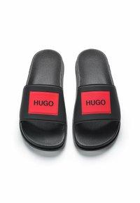 HUGO - MATCH - Rantasandaalit - black - 2