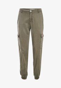 BONOBO Jeans - UMWELTFREUNDLICHE  - Cargo trousers - vert kaki - 4