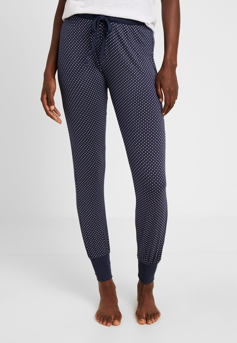 Esprit - JAYLA SINGLE PANTS - Pyjama bottoms - navy