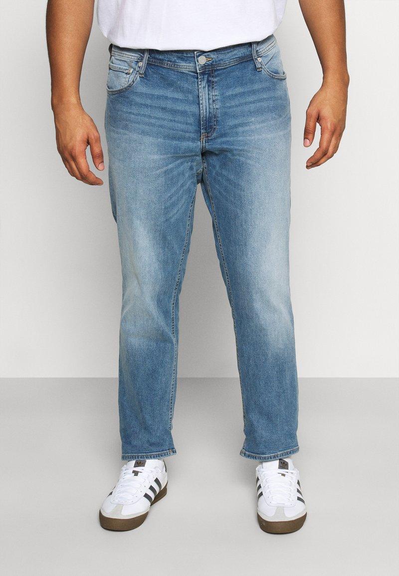 Jack & Jones - JJIGLENN JJORIGINAL - Straight leg jeans - blue denim