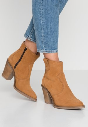 ELENA - Ankle boots - rust brown