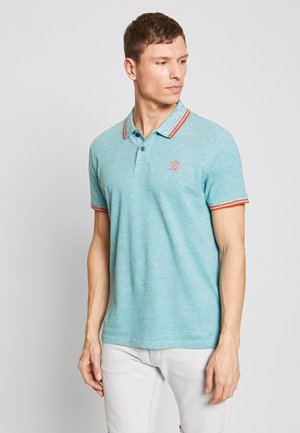 TWO-TONE TIPPING POLO - Polo shirt - green