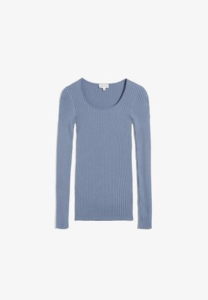 CREWNECK - Strickpullover - foggy blue