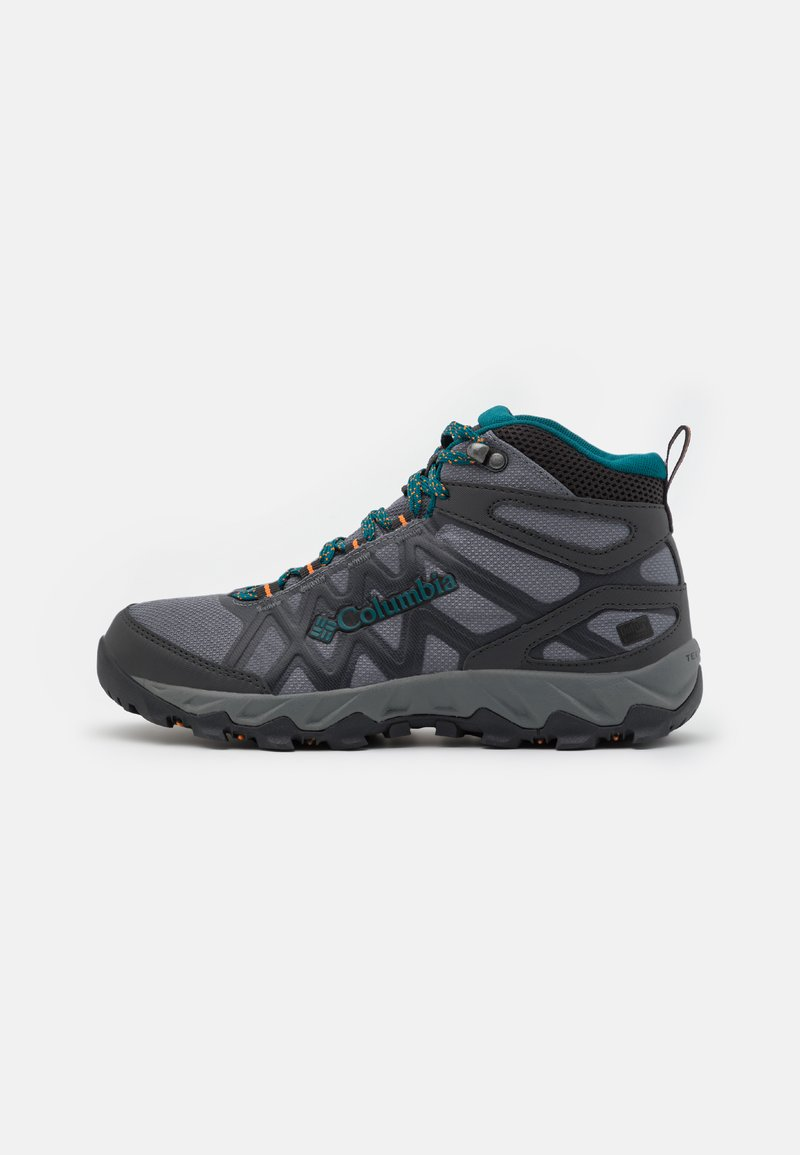 Columbia - PEAKFREAK X2 MID OUTDRY - Hiking shoes - grey steel/deep wave