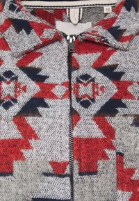 Anerkjendt - OSCAR OVERSHIRT - Korte jassen - grey/dark blue/dark red - 2