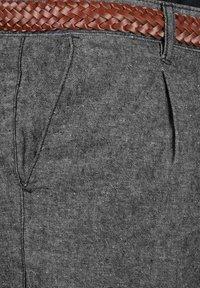 INDICODE JEANS - LEDIAN - Shorts - black - 4
