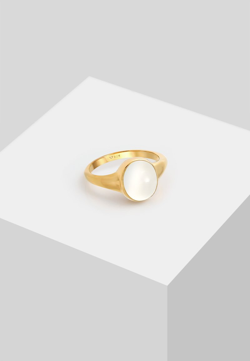Elli - SIGNETRING MOONSTONE - Anello - gold