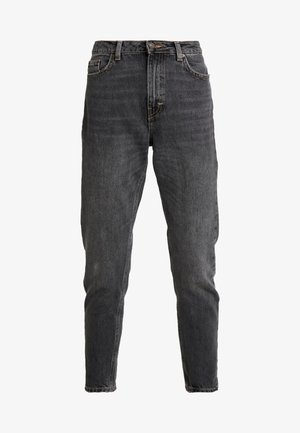 MOM - Džíny Relaxed Fit - washed black